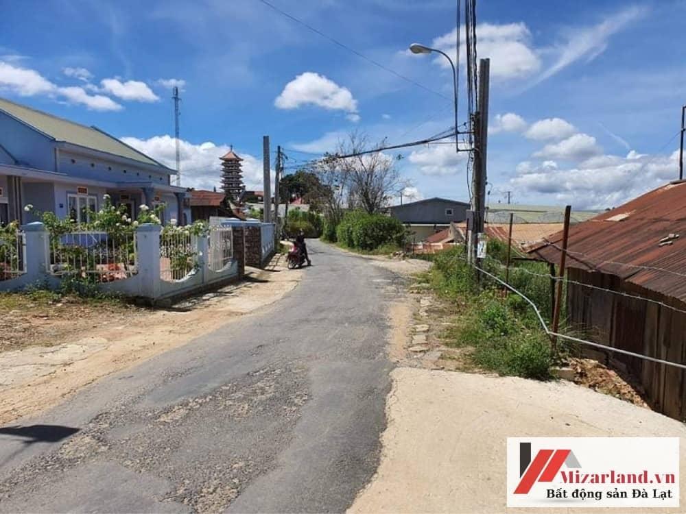 Bán đất 2 mặt tiền phường 8 Đà Lạt