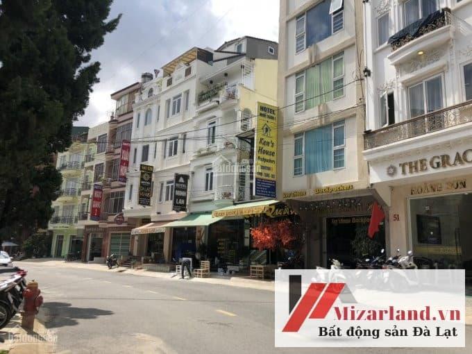 Bán khách sạn 2 mặt tiền phường 1 Đà Lạt