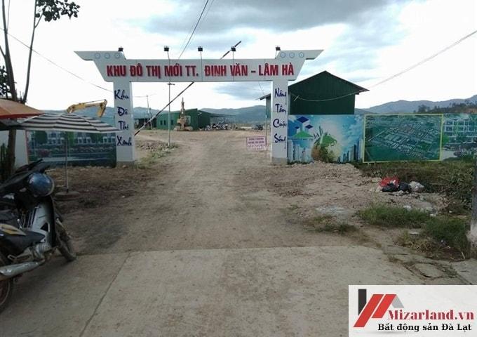 Bán Đất Nền Lâm Hà, Trung Tâm Thị Trấn Đinh Văn
