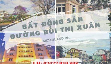Bất động sản đường Bùi Thị Xuân
