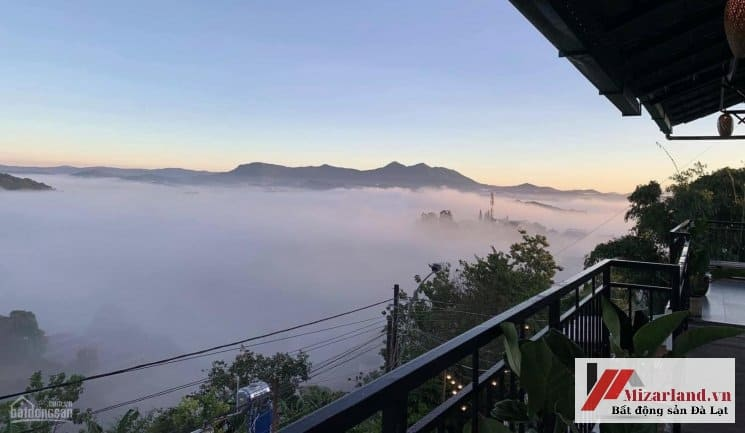Homestay Đà Lạt bán - View Săn Mây Đẹp