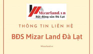 Liên hệ BĐS Mizar Land