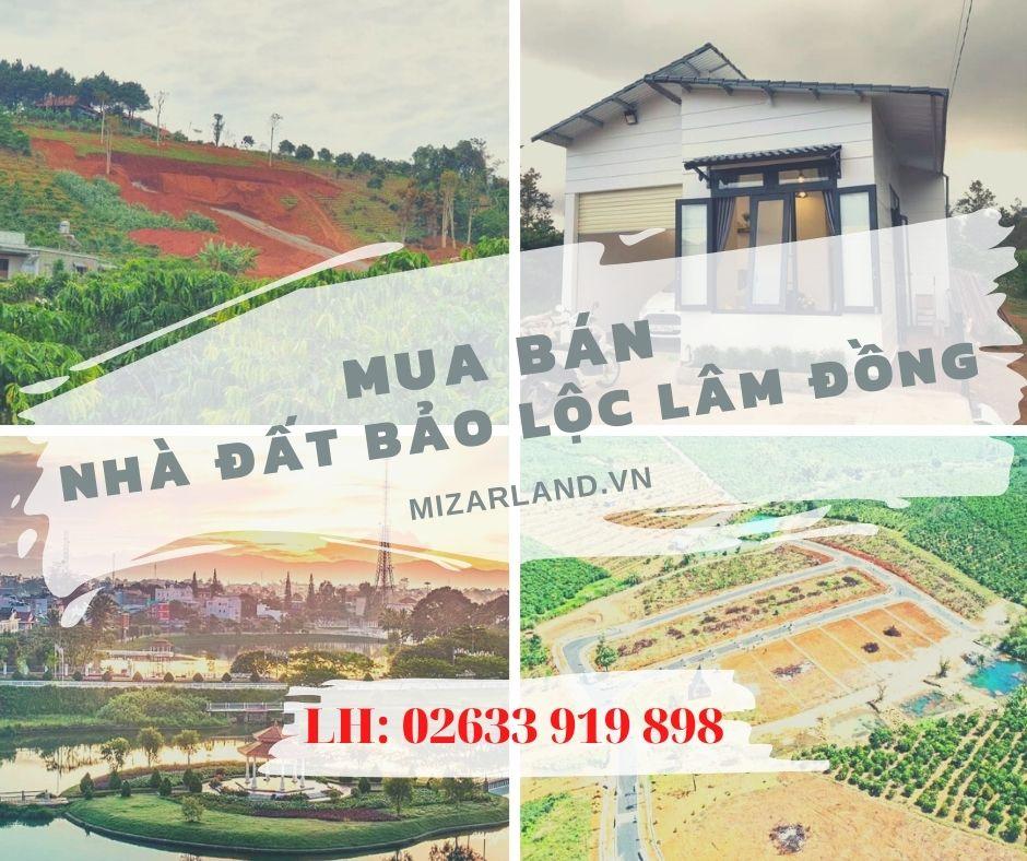 Nhà đất Bảo Lộc
